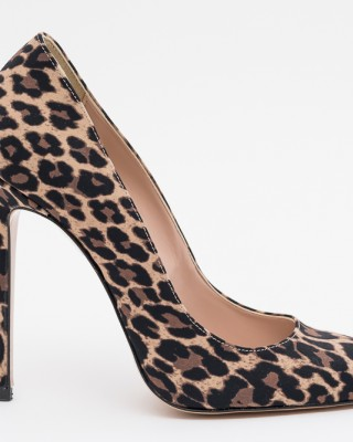 PANTOFI STILETTO ANIMAL PRINT IDENTITA
